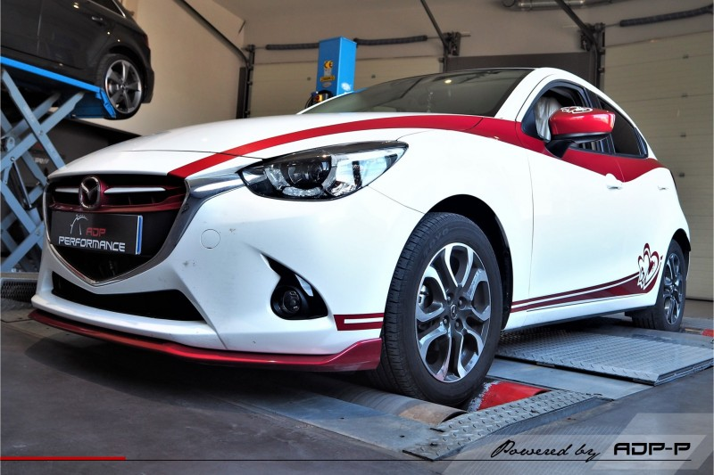Reprogrammation moteur - Mazda 2 1.6 MZ-CD 90cv - ADP Performance