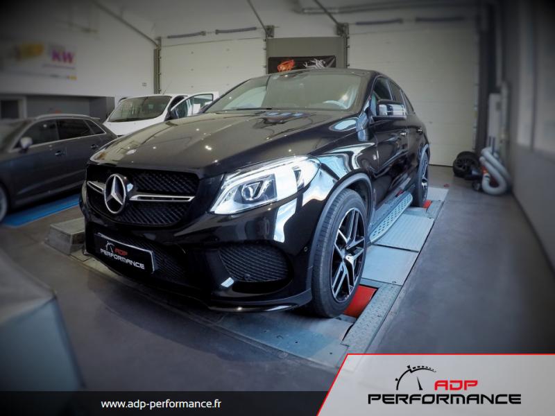 Reprogrammation moteur - Mercedes GLE 63 AMG 558 ADP Performance