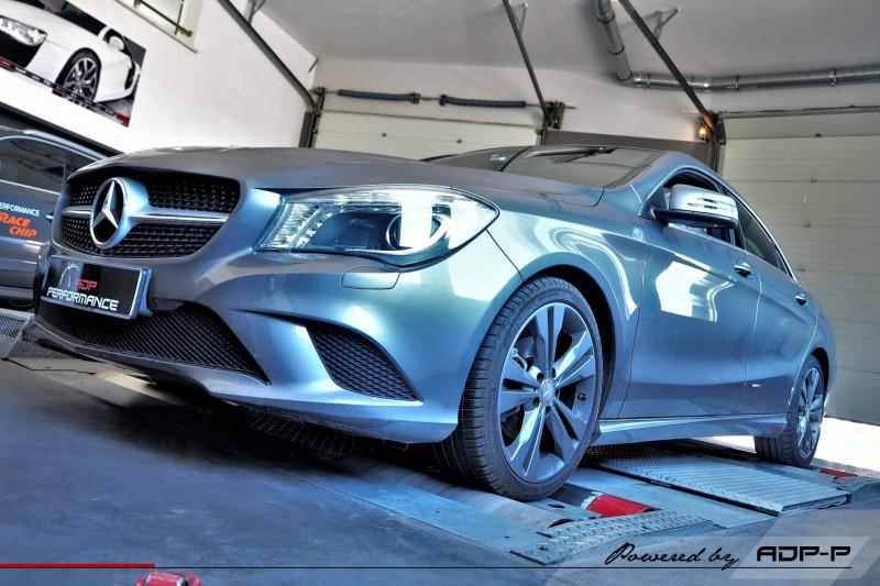 Reprogrammation moteur Marseille, Aubagne, Aix en Provence - Mercedes CLA 220 CDI 177cv - ADP Performance