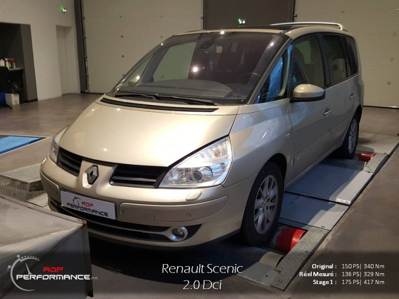 renault espace mk4 2005 2014 2 0 dci 150 reprogrammation de votre vehicule. Black Bedroom Furniture Sets. Home Design Ideas