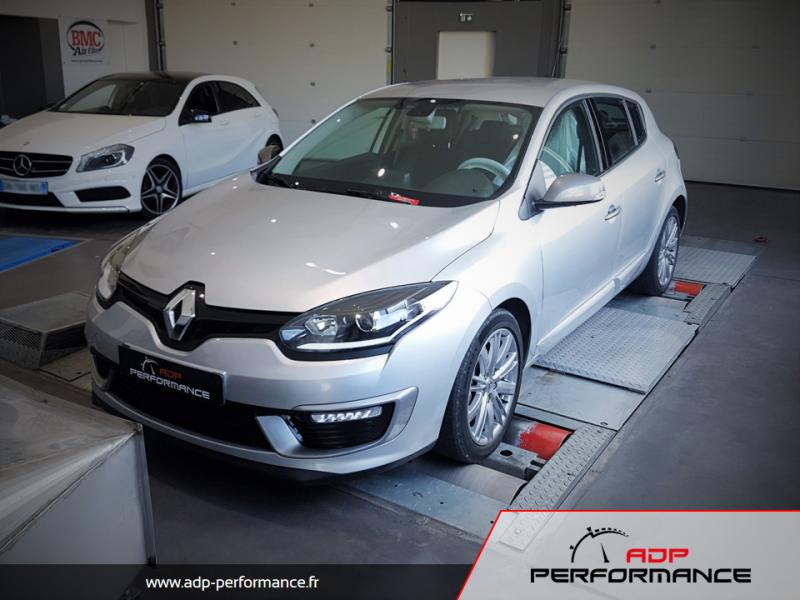 Reprogrammation moteur - Renault Megane 3 ph2 2.0 DCI 165cv - ADP Performance