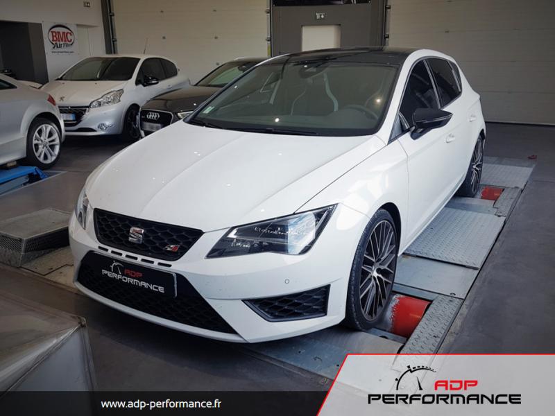 Reprogrammation moteur - Seat Leon 5F 1.6 TDI 110cv - ADP Performance