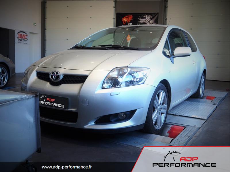 Reprogrammation moteur - Toyota Auris 2.0 D4D 126cv - ADP Performance