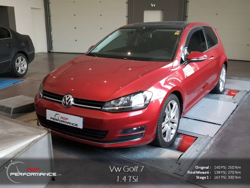 volkswagen golf golf vii 2012 essence 1 4 tsi 140 cv reprogrammation de votre. Black Bedroom Furniture Sets. Home Design Ideas