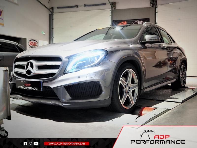 Reprogrammation moteur - Mercedes GLA 200 CDI 4 Matic - 136 cv - ADP Performance