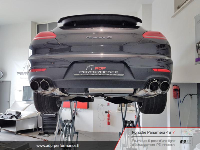 Ligne d'échappement iPE Innotech Porsche Panamera 4S La Ciotat