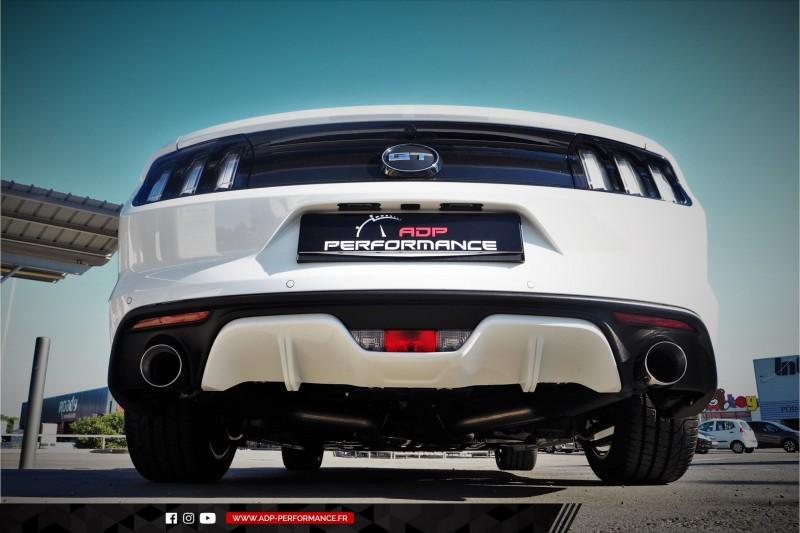 Ligne d'échappement Flowmaster Salon de Provence - Ford Mustang 5.0 V8 - ADP Performance
