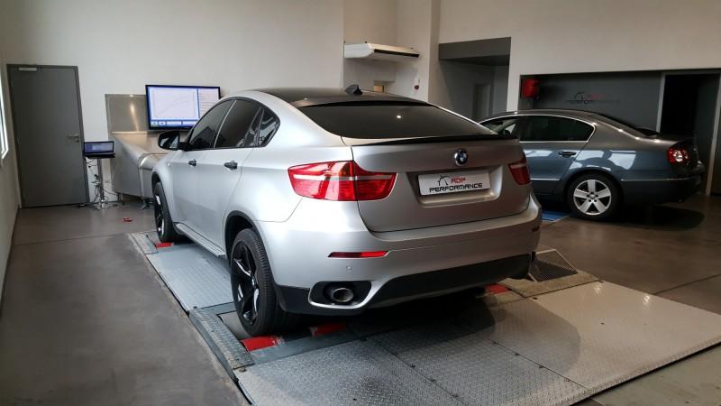 Vitres teintées BMW X6 salon de provence